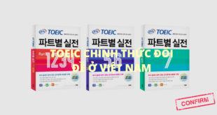 Đề thi TOEIC format mới tại Việt Nam